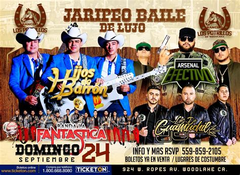 arsenal efectivo alta consigna woodlake tickets boletos rancho los potrillos