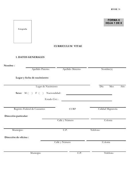 Modelo De Curriculum Vitae Foliado Y Rubricado Modelo De Curriculum Vitae Foliado Y Rubricado Modelo De Curriculum Vitae
