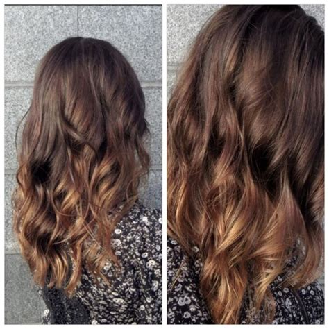 ombre hair for brunettes brunette subtle ombre brunette hair pinterest subtle