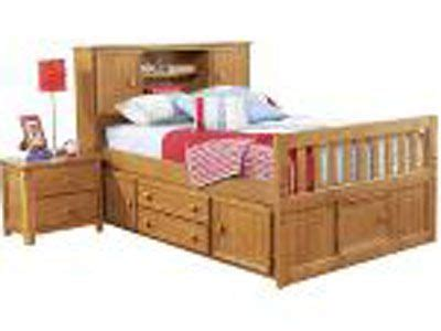 full bookcase headboard captains bed   fun secret door bedroom furniture stores