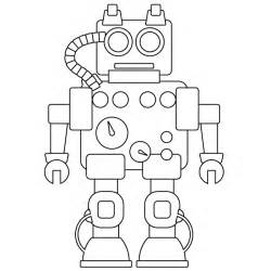 robot coloring pages free coloring pages of robot