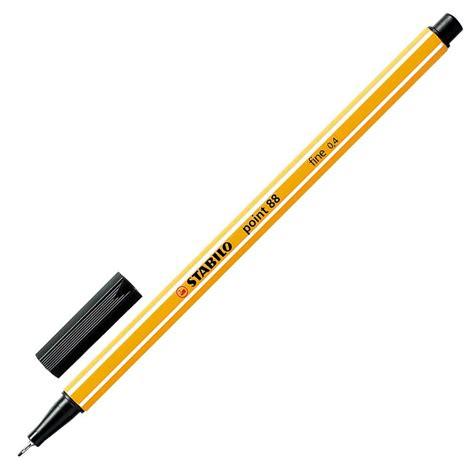 Sale Stabilo Bintang 4 4 stabilo point 88 174 fineliner pen 0 4 mm zwart 88 46 staples 174
