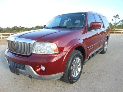 how to sell used cars 2004 lincoln navigator lane departure warning sell used 2004 lincoln navigator loaded 4x4 in pompano beach florida united states