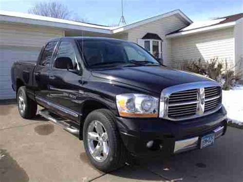 automobile air conditioning repair 2006 dodge ram 1500 navigation system sell used 2006 dodge ram 1500 laramie 5 7l hemi black very good condition navigation in winsted
