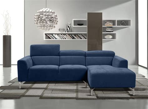 navy sectional couch diamond sofa gemma navy fabric sectional set adjustable