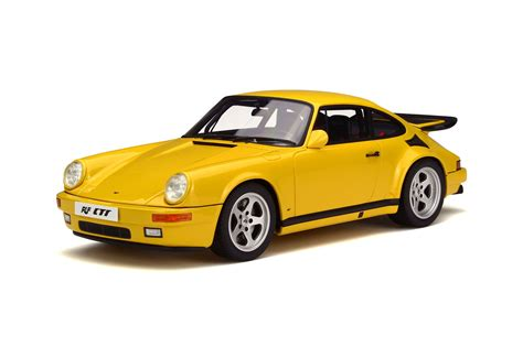 Porsche Yellow Bird by Ruf Ctr Yellow Bird Model Car Collection Gt Spirit