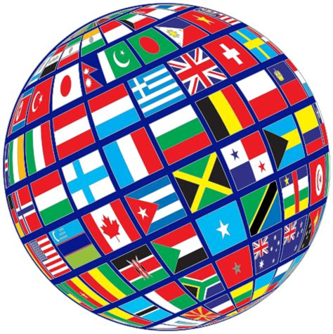 flags of the world download png world flags globe tilted blue flags flag globe world