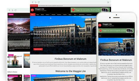 wp content themes newspaper maggie lite free clean and modern magazine wordpress