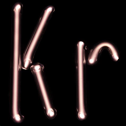 Krypton L element name krypton symbol kr atomic number 36 atomic