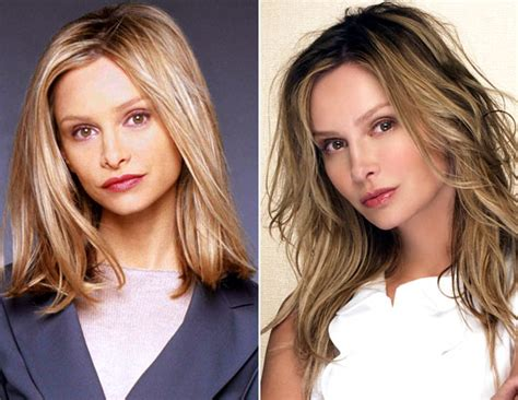 ally walker today ally mcbeal cast then and now calista flockhart picture