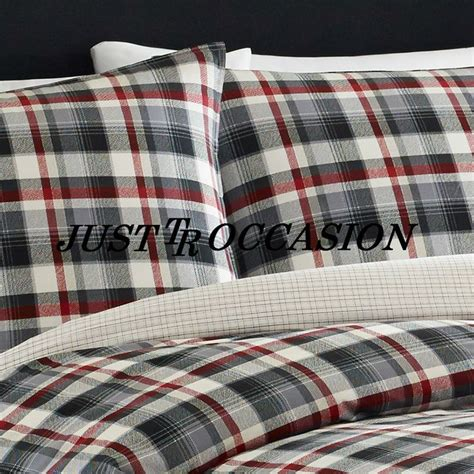 red and black plaid comforter king comforter set duvet cover contemporary plaid down alt
