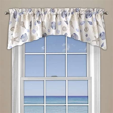 10 attractive coastal kitchen curtains 33 00