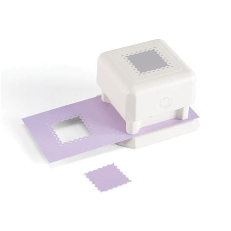 Paper Punches For Crafting - martha stewart crafts scalloped dot square punch all