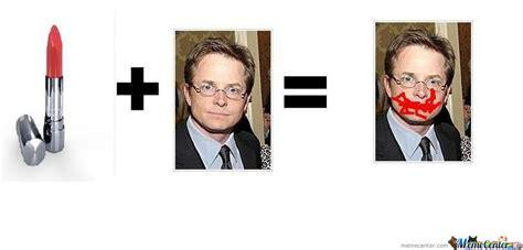 Michael J Fox Meme - michael j fox lipstick by vdf2 meme center
