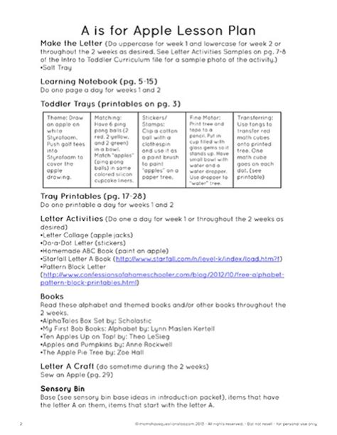 toddler curriculum and schedule