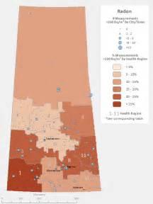 canada radon map carex canada