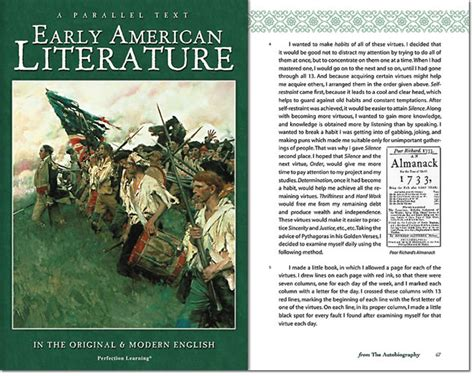 early literature early american literature parallel texts