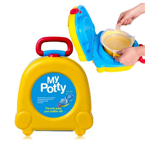 Bp020 Foldable Travel Potty 2in1 Potette Plus Potty Portabl best portable potty seat for toddlers chairs seating