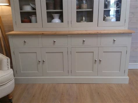new huge solid pine welsh dresser kitchen unit shabby chic painted furniture f b ebay