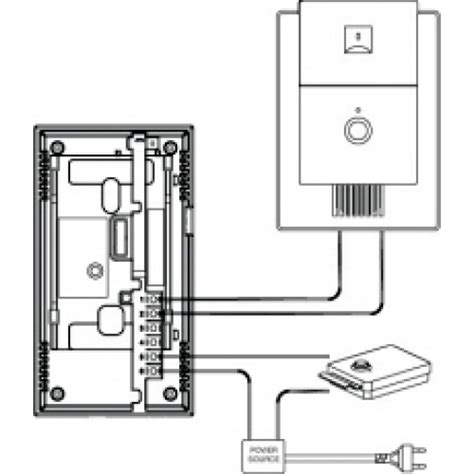 3 wire intercom systems wiring diagram 3 get free image