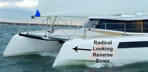 catamaran design principles modern catamaran trends gimmicks or valid design ideas