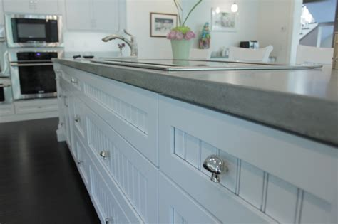 concrete kitchen countertops cabinets by graber