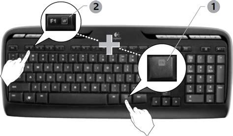 verwendung der f tasten auf meiner mk300 tastatur
