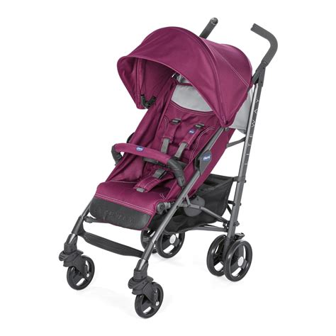 Poussette Canne Chicco Lite Way by Chicco Lite Way 3 Pushchair 2018 Plum Buy At