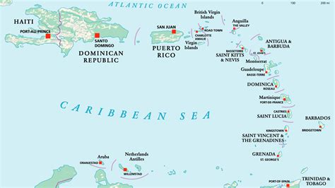 mapa america central y antillas mapa de am 233 rica central insular