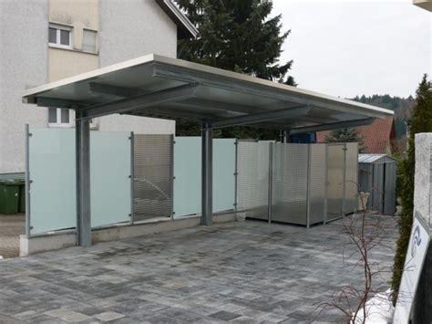 carport seitenwand deurer metallbau remchingen carports 220 berdachungen