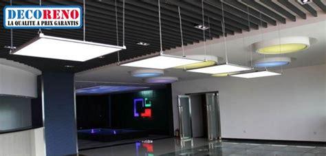 plafond suspendue les dalles led suspendues efficaces et design