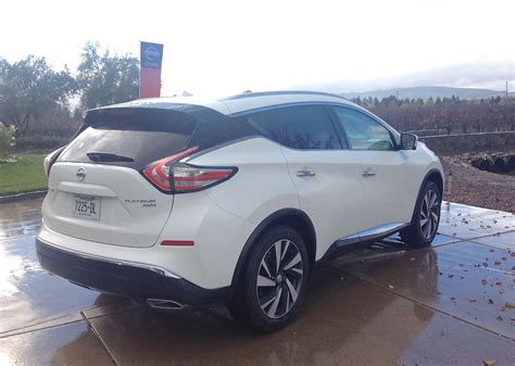 nissan murano white 2015 nissan murano for the wine country and beyond
