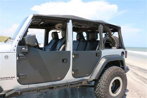 jeep wrangler unlimited half doors rugged ridge half doors rugs ideas