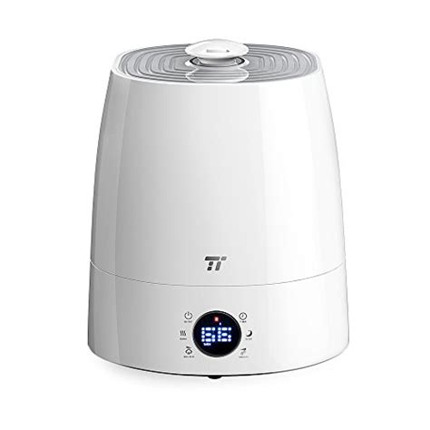 bedroom humidifier reviews warm cool mist humidifier with led display taotronics