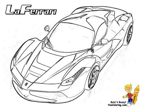 heart pounding ferrari coloring ferrari cars free