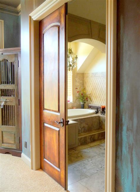 Faux Wood Interior Doors Faux Plastered Doors Interior Doors Portland By Johanna Annable World Artist