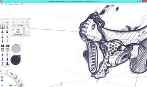 Sketches Pro Tutorial by Remember To Set Up A High Resolution File With Sketchbook Pro