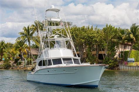 whiticar sport fishing boats 1975 used brownell rybovich whiticar 1975 2016 custom