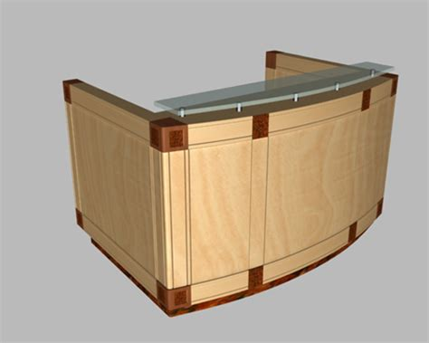 Free Reception Desk Small Office Reception Desk 3d Model 3dsmax Files Free Modeling 17448 On Cadnav