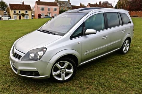 Used 2007 VAUXHALL ZAFIRA SRI CDTI, PANORAMIC ROOF AND