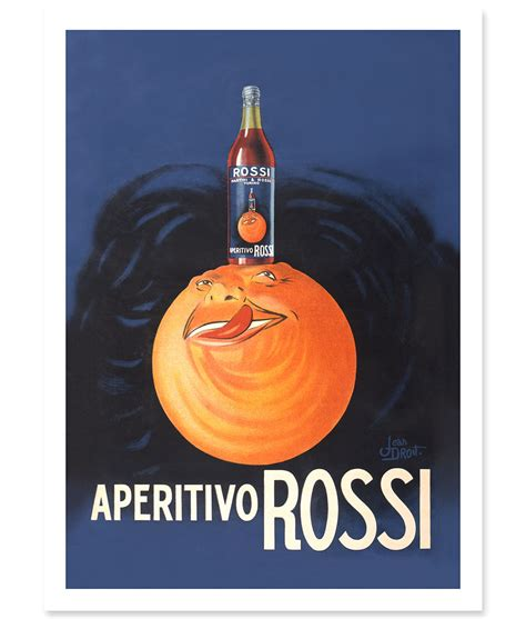rossi poster aperitivo rossi vintage poster print 41 orchard
