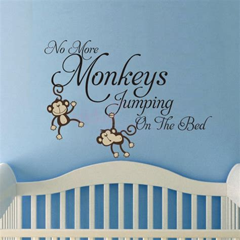 no more monkeys jumping on the bed wall art wall decal best 20 no more monkeys jumping on the bed wall decal no more monkeys