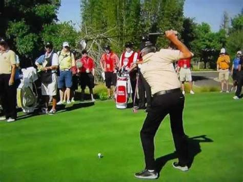 fred couples driver swing fred couples slo mo driver great angle golf