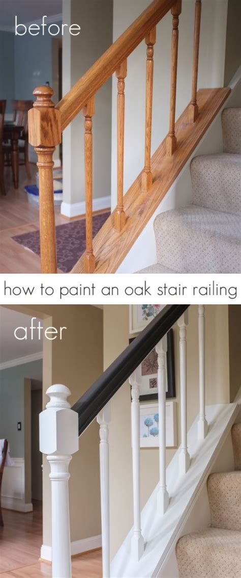 How To Paint A Stair Banister by 17 Best Ideas About Painted Stair Railings On