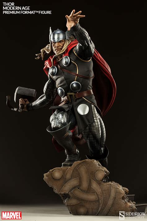 Premium Zipper Thor Logo 1 modern age thor and thor frog bring the thunder sideshow collectibles