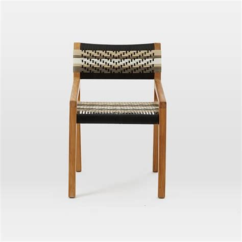 john vogel teak dining chair west elm