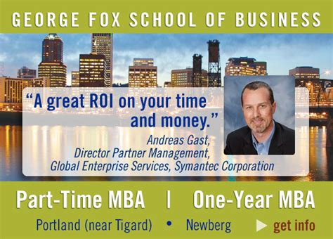 George Washington Mba Tuition Fee by Mba In Portland Oregon Legitimate Accredited Business