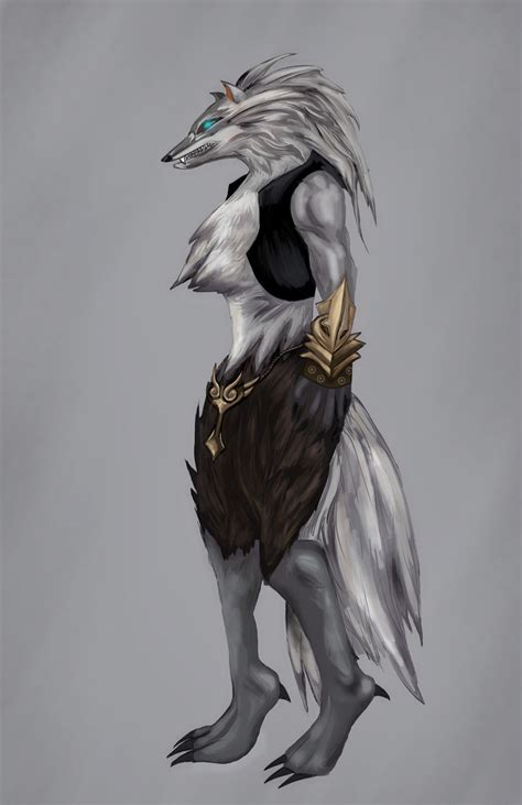 A R A N Wolfe wolf person by lanerx on deviantart