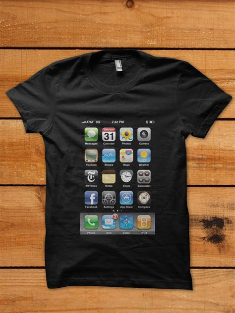 Tshirt Iphone A by Apple Iphone T Shirt By Cornerart On Deviantart