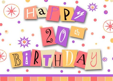 Happy 20th Birthday Wishes Happy Birthday Msn Vanny 3848692 Meme4u Com Forum